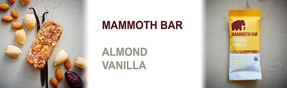 Almond vanilla Mammoth Bar