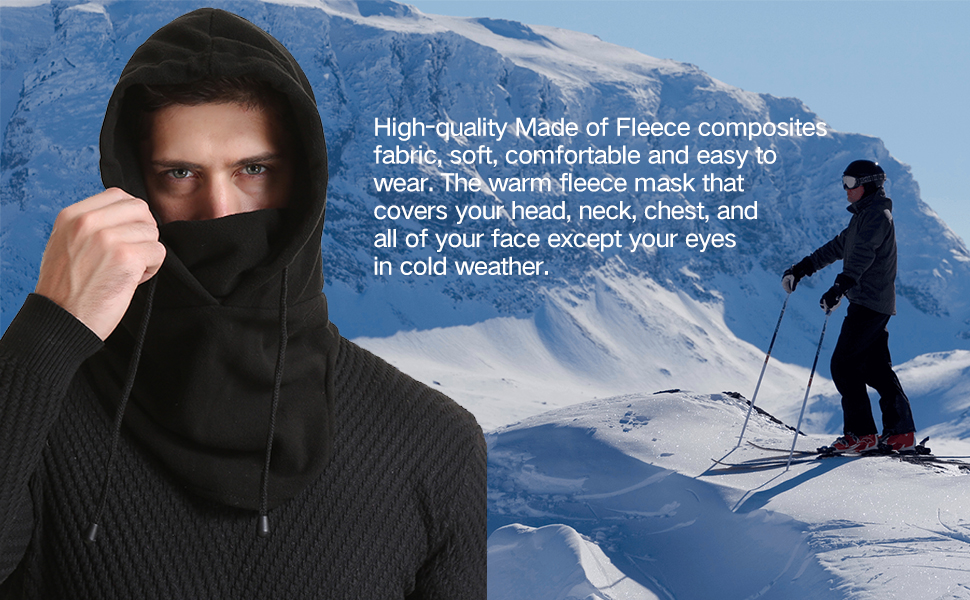 Balaclava Ski Mask Breathable Full Face Mask Windproof Sports Headwear for Outdoor Activities
