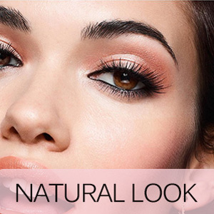 Magnetic eyelashes with eyeliner kit natural look