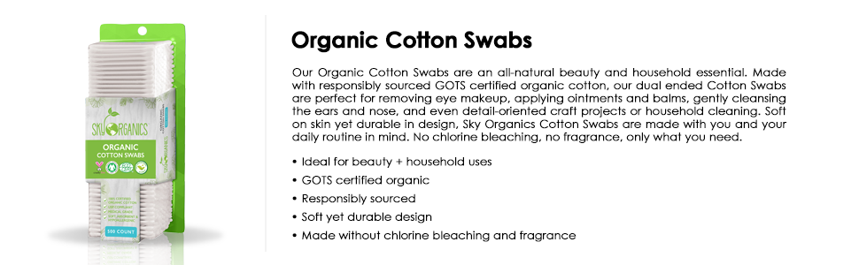 organic cotton, cotton swabs, for nail, pure cotton, cotton, soft thick cotton swabs, make up, kit