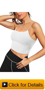 sports bra crop top