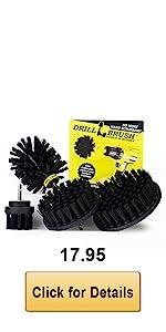 Black Drill Brush