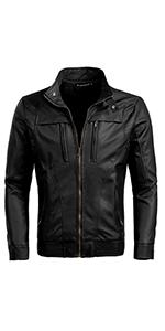 Zipper Motorcycle Jacket
