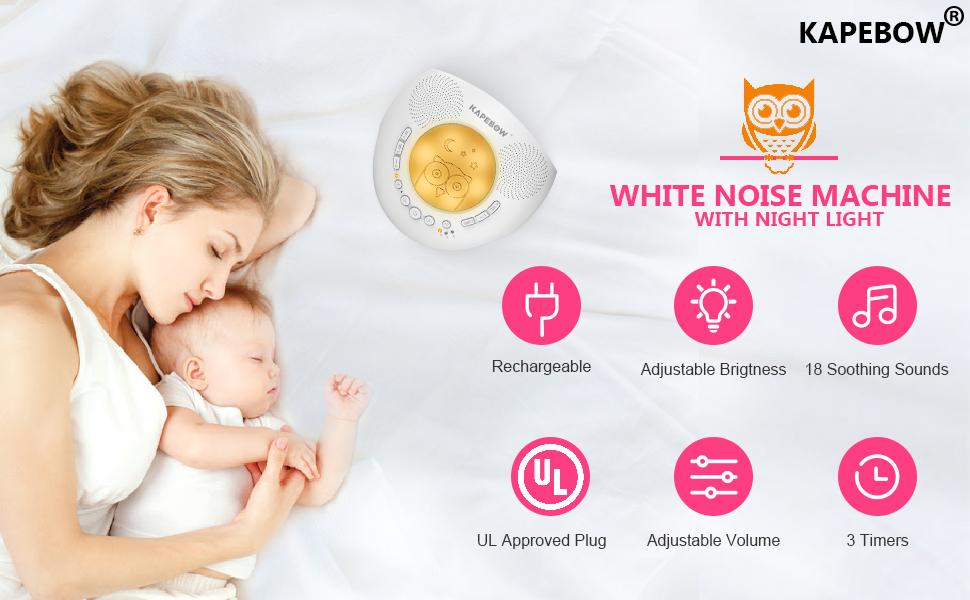 white noise machine baby