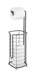 Metal Toilet Tissue Reserve Plus in Graphite Gray