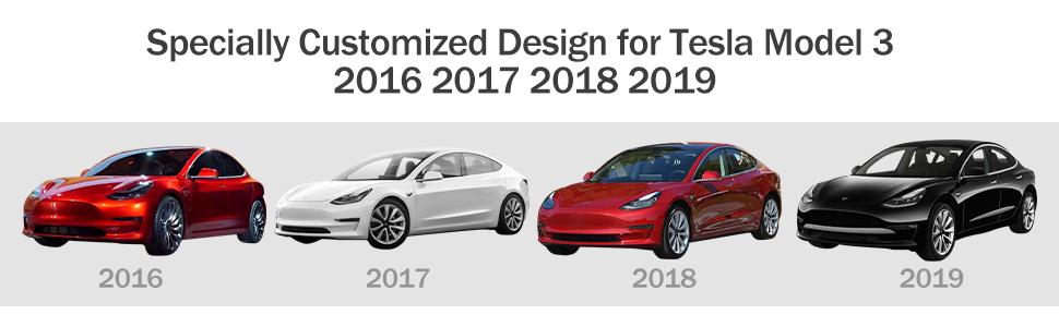 Tesla Model 3 Seats cover Cushion Protector PU Full Set