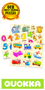 Safari Animal wood wooden puzzle puzzles toddler toddlers kid pegged peg 1 2 3 4 years games toys
