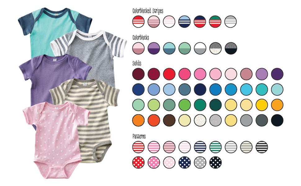 onesie colors boy igirl essential baby first new pretty cute