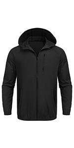 mens lightweight rain jacket packable lightweight raincoat waterproof rain jacket with hood