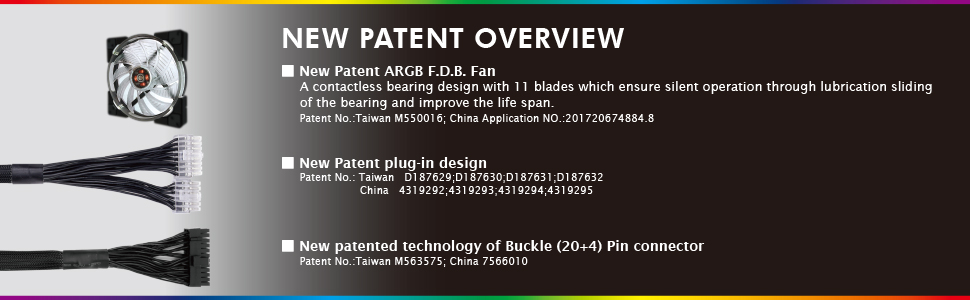 new patent overview