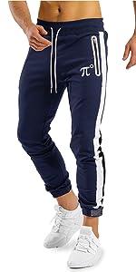 Slim Workout Striped Jogger Pants