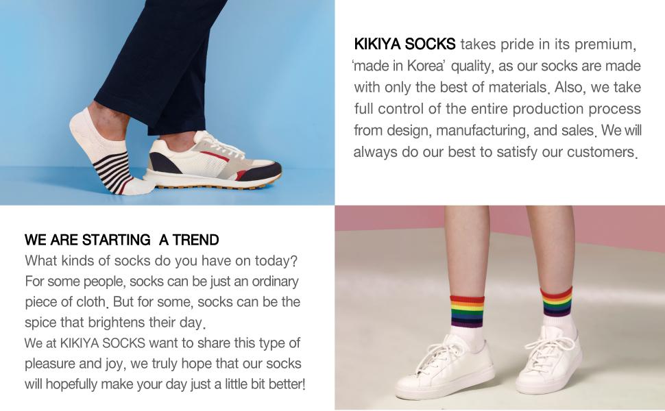 kikiya socks starting a trend