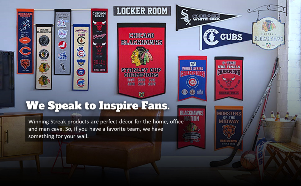 We Speak to Inspire Fans.