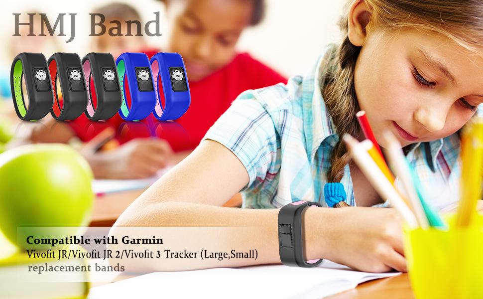HMJ Band Compatible with Garmin Vivofit JR Bands 1