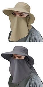 fishing hats upf for men