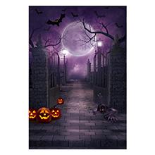 5x7FT Halloween Photo Cloth Backdrop