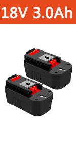 black and decker 18 volt battery