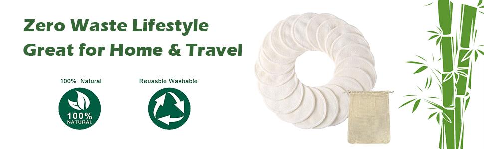 reusable organic cotton rounds