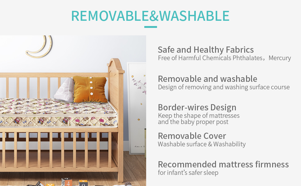 removable and washable
