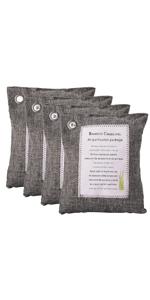 200G Grey Bamboo Charcoal Bag