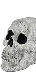 Myard fire skull log 3