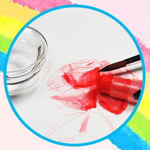 Red Horn Super Crayon Stick