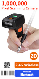 Ring barcode scanner
