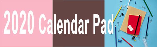 calendar desk pad
