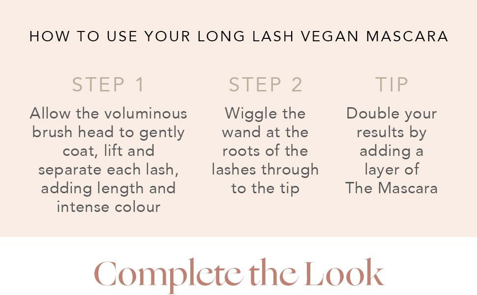 INIKA Organic Long Lash Mascara How To