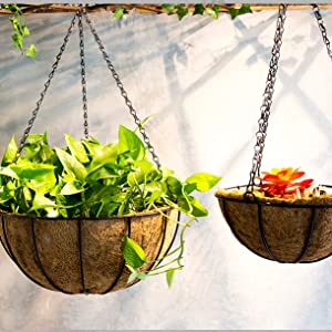 plant outdoor garden for pots hanging plants pot planter planters indoor flower decorations10 basket