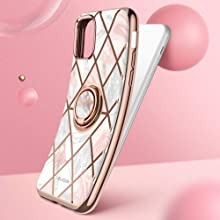i-Blason Cosmo Snap Slim Case with Rotatable Ring Holder for iPhone 11 2019