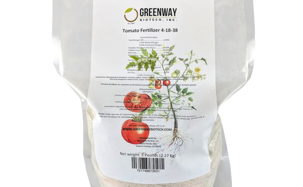 nutrient powder, water soluble tomato fertilizer, 4 18 38, 4-18-38, micro nutrients tomato nutrients
