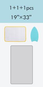 small ironing mat