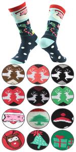 novelty christmas socks