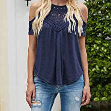 lace tops for women cold shoulder shirts for women summer tops halter tops for women flowy tops
