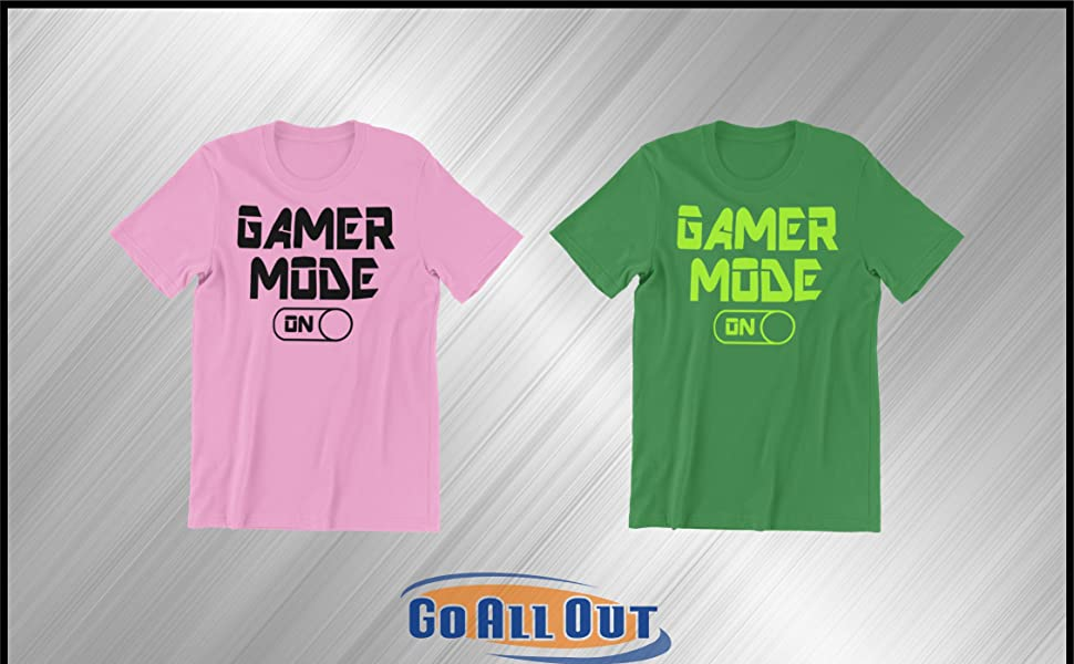 game mode shirts