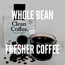 natural force clean coffee is whole bean