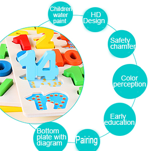 wooden kids toy set