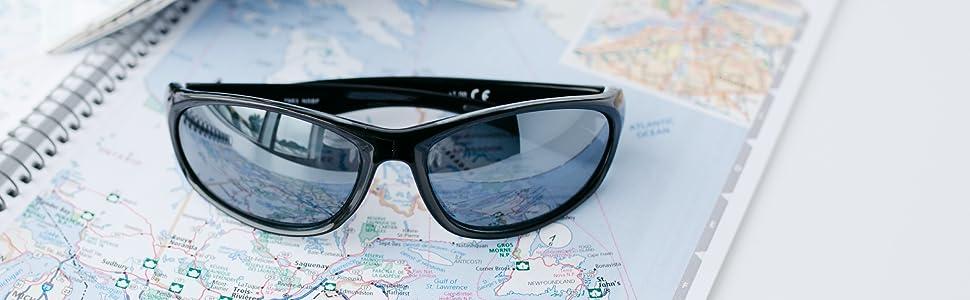 sport & wrap around reading sunglasses black readers.com