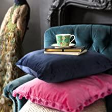 Tea Cup & Saucer - Green sara miller portmeirion chelsea 22 carat gold green navy grey green pink