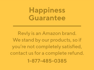 Revly happiness guarantee