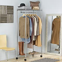 garment rack, closet rack, garment rod, clothes hanger, cloths rack, coat rack, wardrobe, portable