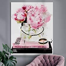 peonies oliver gal chanel artwork