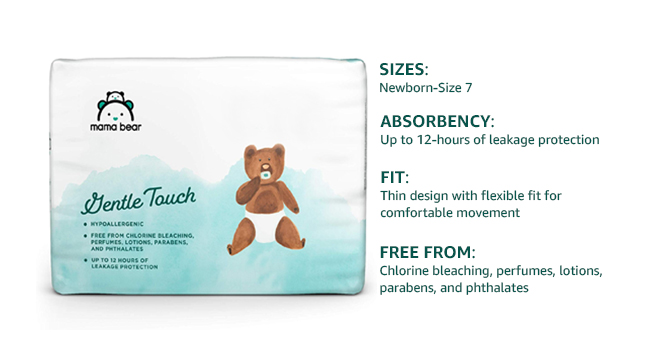 Mama Bear Gentle Touch Diapers