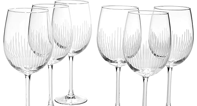 Rocks glass, whiskey glass, water glass, wine glass, champagne glass
