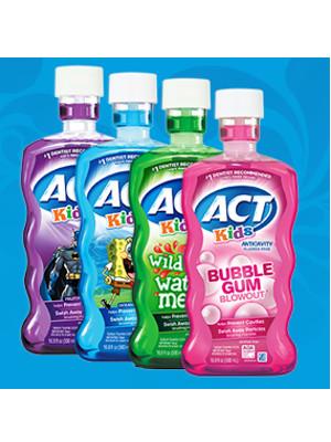 act, act kids, mouthwash, kids mouthwash, anticavity, anticavity rinse