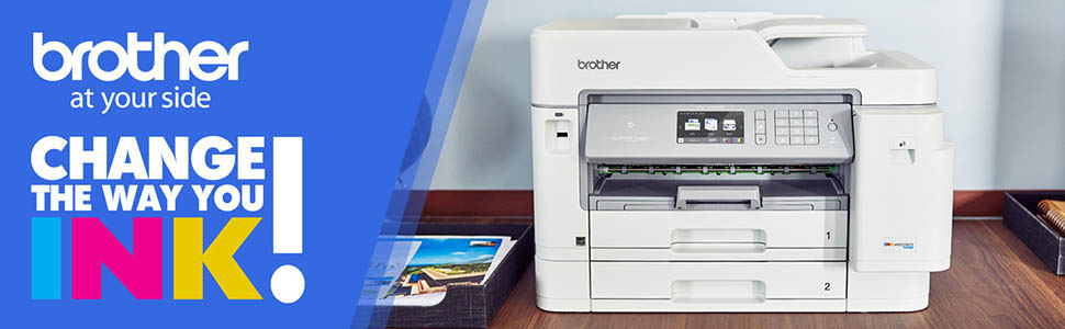 printer; all-in-one; inkjet; MFC-J5945DW; duplex; mobile; wifi; cloud; high; yield; ink; tank; nfc