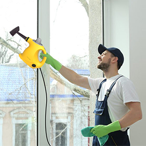 steam cleaner for window
