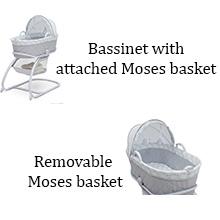 delta children moses basket bassinet sleep baby infant newborn