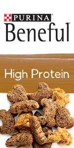 Purina Beneful high protein dry dog food